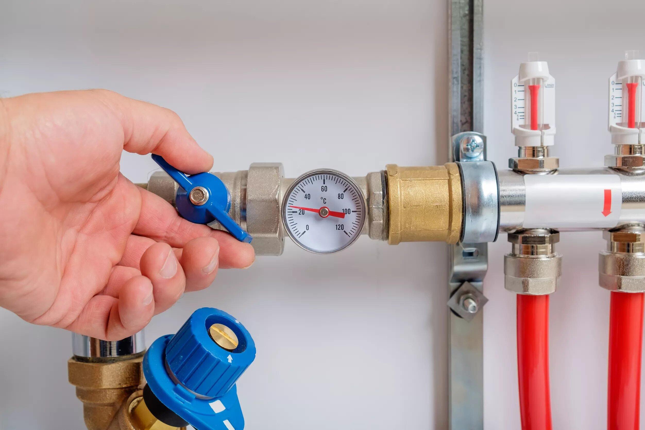 válvula de pressão de água