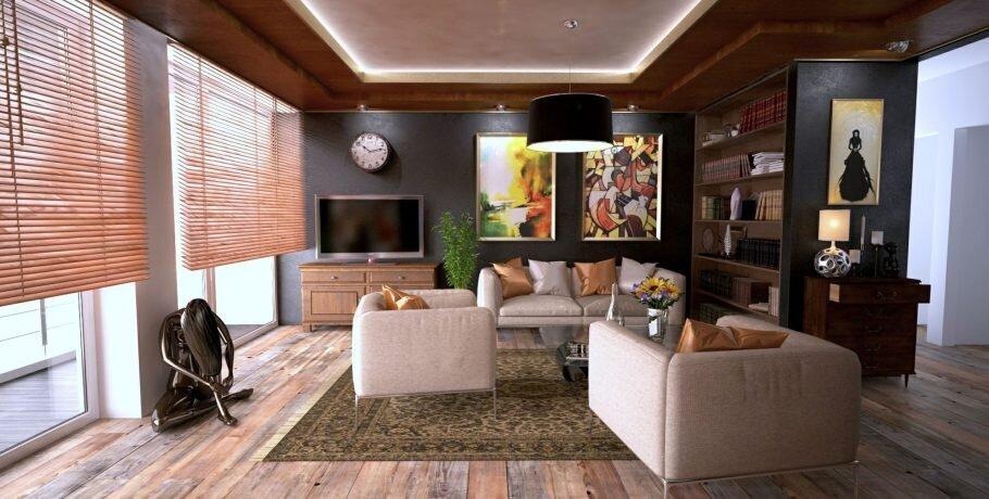 iluminação para sala de estar