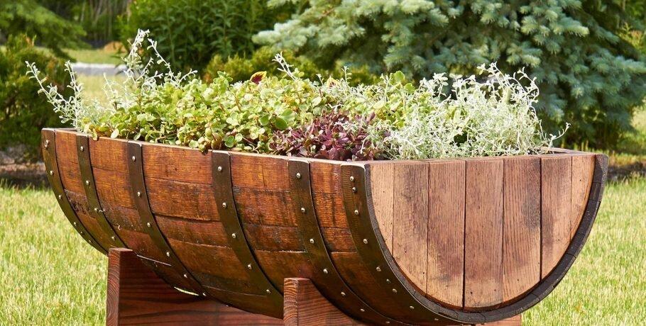 vasos personalizados para jardim
